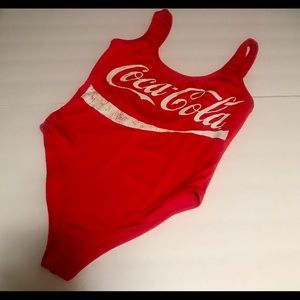 Other - Coca Cola One piece fully lined swimsuit